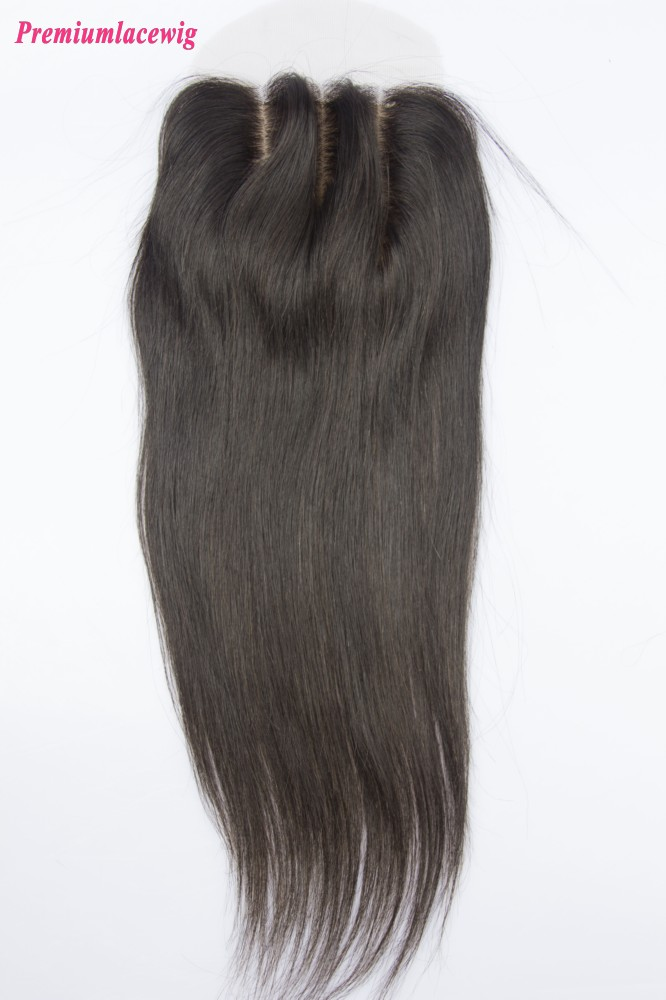 Straight Peruvian Hair Silk Base Closure 16inch