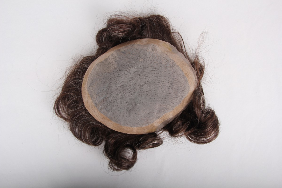 Super quality men toupee PWC412