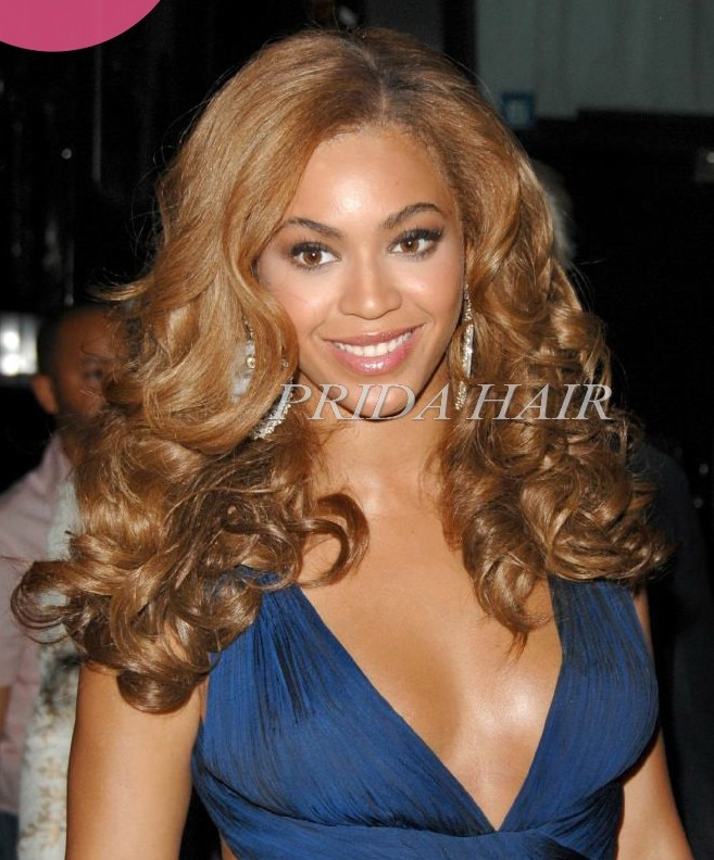 Top quality 18inch #6 beyonce full lace wig PWL122