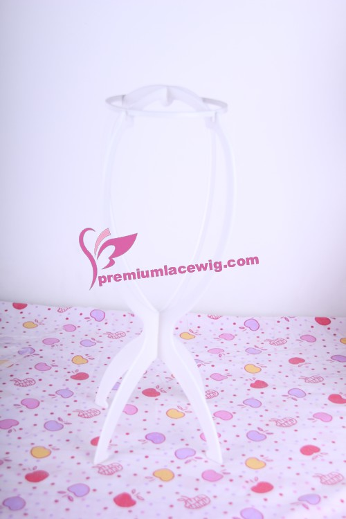 White Wig Stand