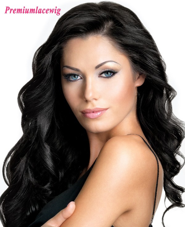 Brazilian Body Wave Full Lace Human Hair Wigs 18inch