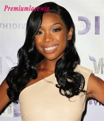 Brazilian Full Lace Wig Body Wave Hair 18inch