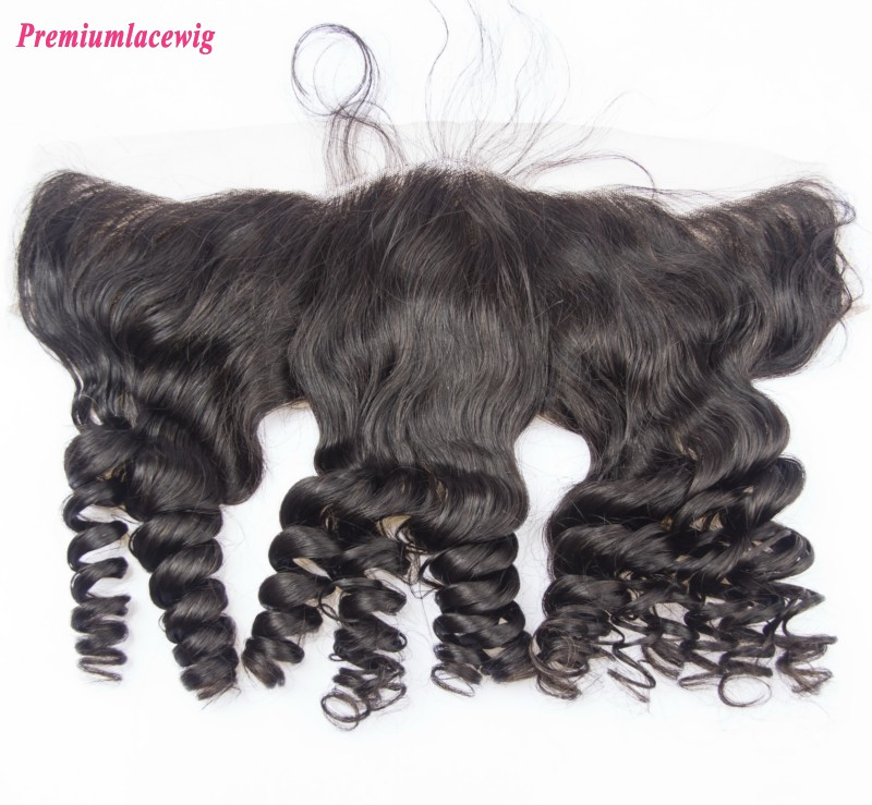 Brazilian Hair Lace Frontal 13X4 Loose Wave 14inch