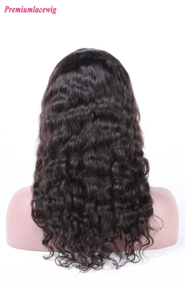 Brazilian Silk Top Full Lace Wig Loose Deep Wave 16inch
