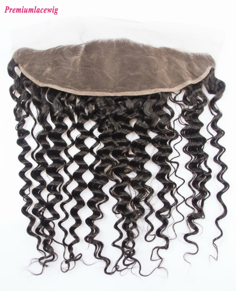 Deep Wave Lace Frontal Peruvian Hair 13x4 14inch