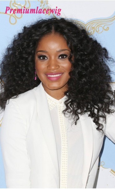 Full Lace Wig Brazilian Long Curly Hair 16inch