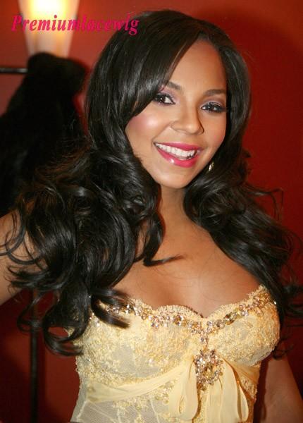 Long Curly Full Lace Wig Brazilian Hair 20inch