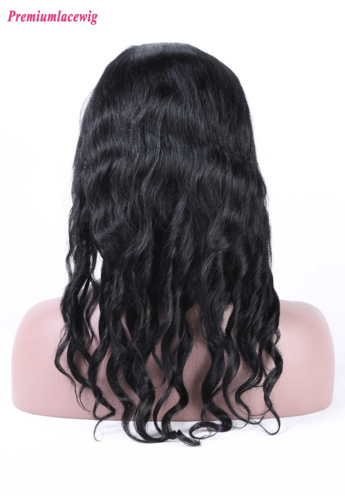 Malaysian Funmi Curly Hair Full Lace Wig 16inch