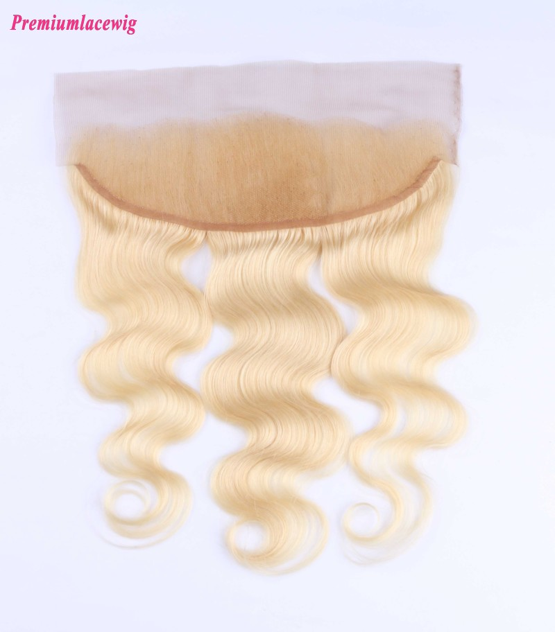 Malaysian Hair Lace Frontal Body Wave Color 613 16inch