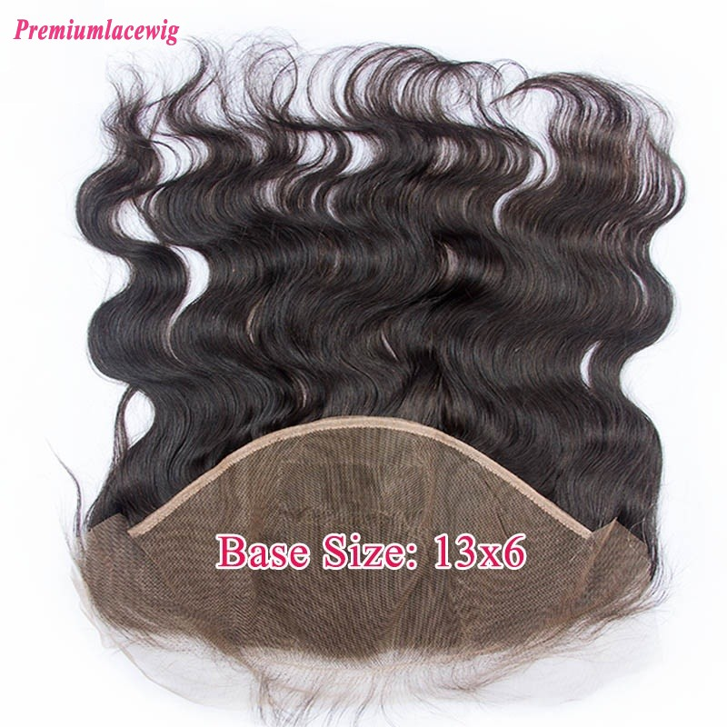 Peruvian Body Wave Lace Frontal 13X6 14inch