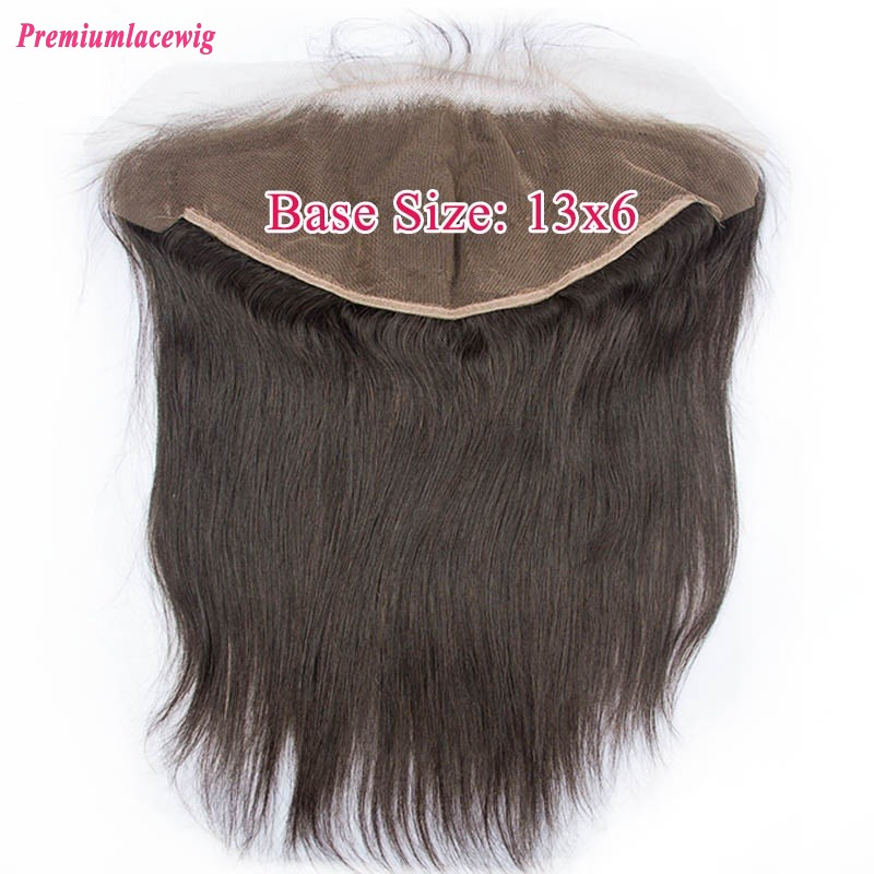 Straight 13X6 Lace Frontal Peruvian Hair 14inch