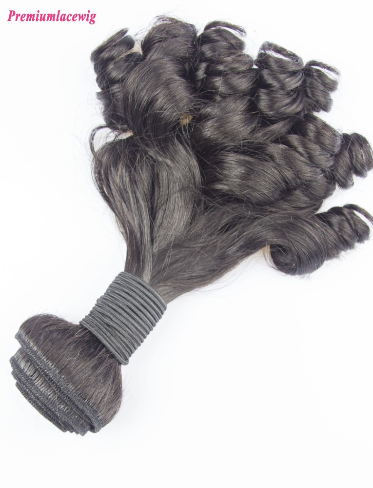 14inch Peruvian Hair Funmi Hair Bundles 1pc/lot