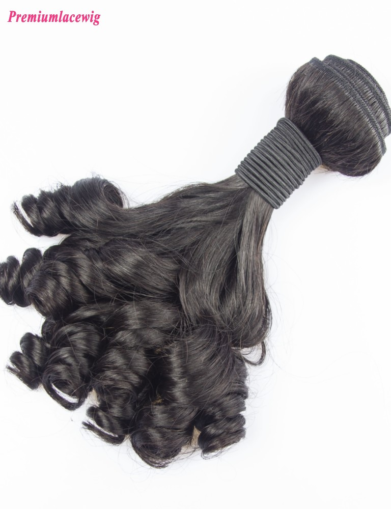Brazilian Natural Color Hair Bundles Funmi Hair 1pc/lot 14inch