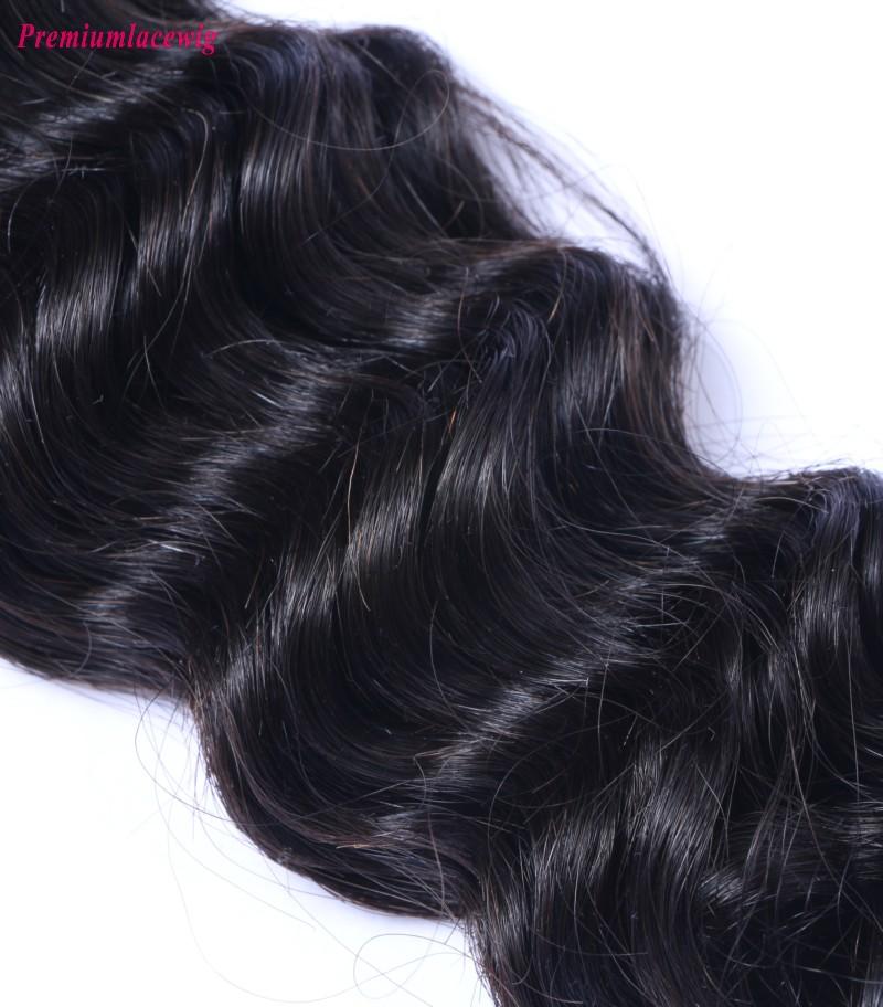 Cheap Hair Extensions Brazilian Deep Wave Hair 1 Bundle 16inch