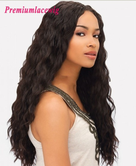 Loose Wave Cheap Full Lace Human Hair Wigs Brazilian Hair 24inch