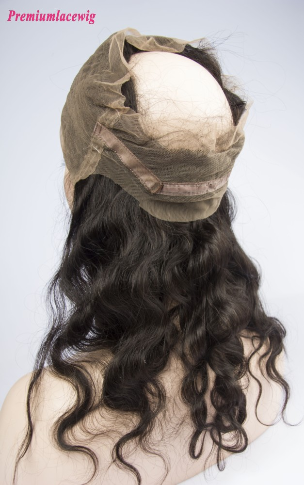 "360 Degree Lace Frontal Body Wave 22""x4""x2"" Brazilian Virgin Hair 14inch"