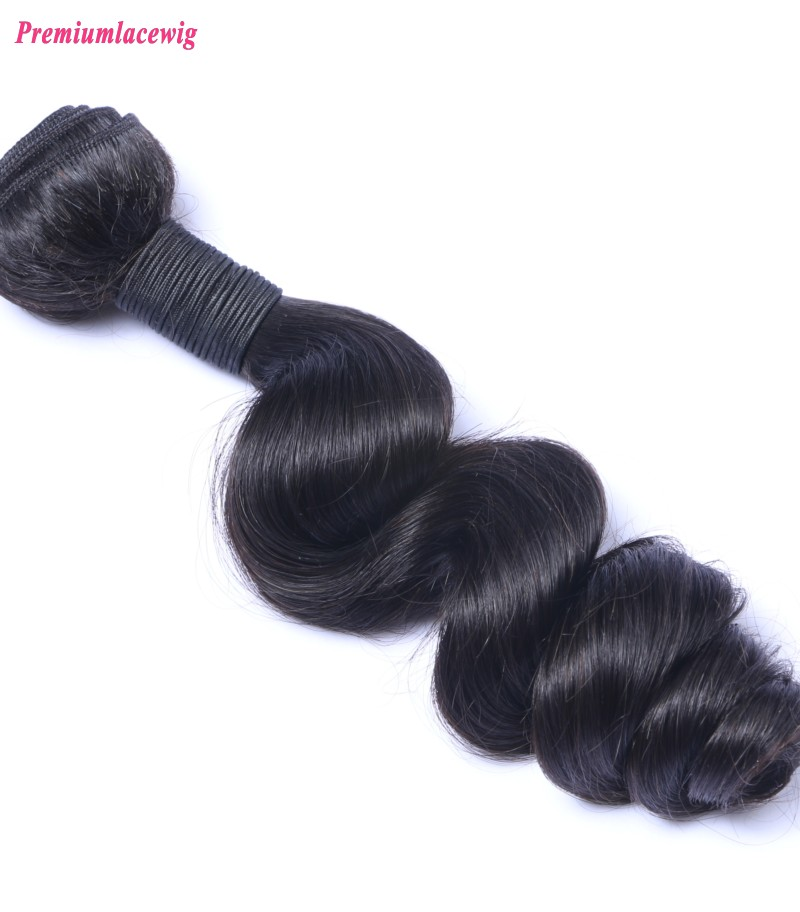 Hair Bundles Peruvian Virgin Hair Loose Wave 1 Bundle 16inch
