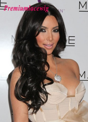 Brazilian Virgin Hair Full Lace Human Hair Wig Loose Curly 20inch