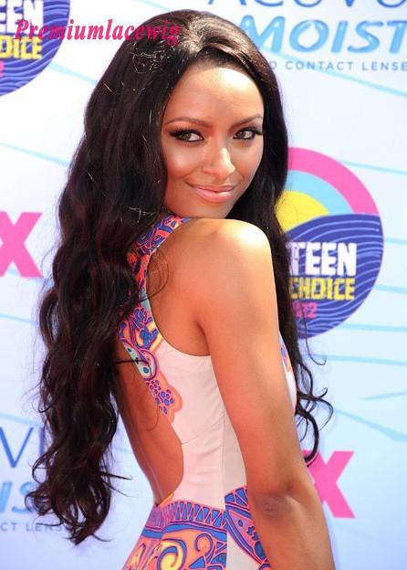 Brazilian Virgin Hair Lace Front Wig Body Wave 24inch