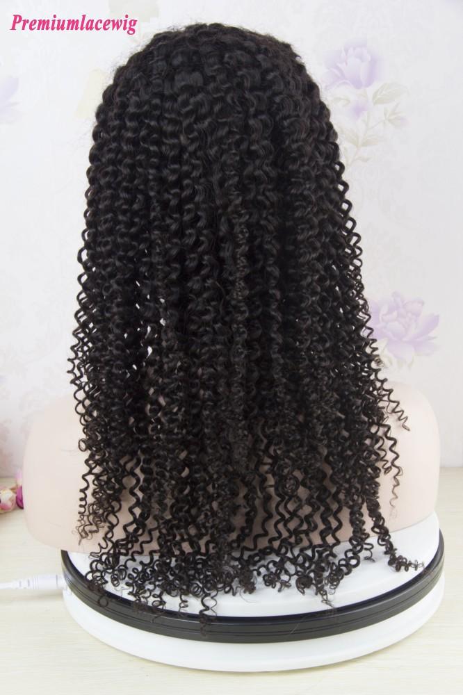 Italian Curly 360 Lace Wig Peruvian Hair 16inch