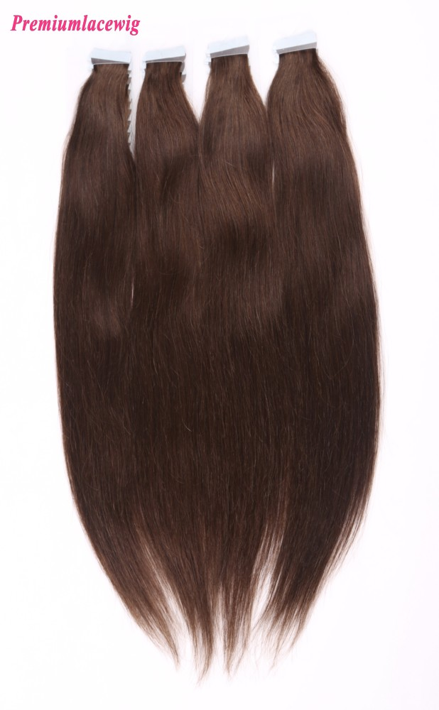 16inch #3 Straight Brazilian Double Tape in Hair Extensions