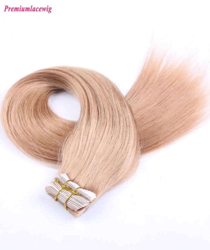 16inch #27 Straight Indian Tape in Human Hair Extensions