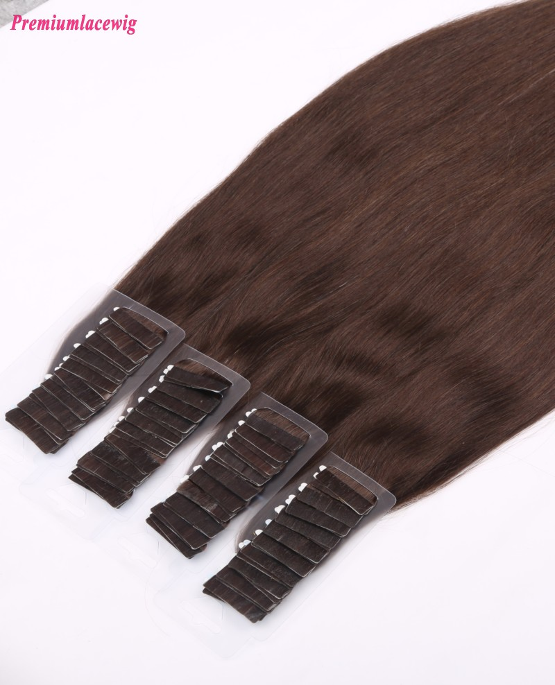 16inch #3 Straight Malaysian Double Tape in Human Hair Extension