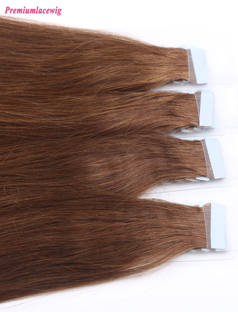 18inch 4 Color Brazilian Human Hair Double Tape Hair