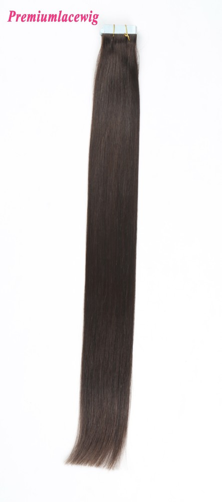 20inch #2 Straight Malaysian Double Tape in Human Hair Extensions