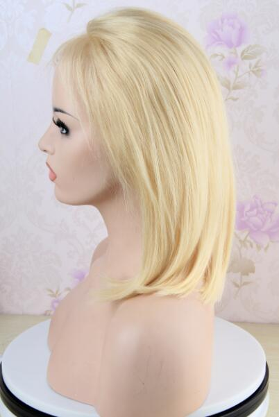 14 inch 613 Color Bob Lace Front Wig Brazilian Straight Hair