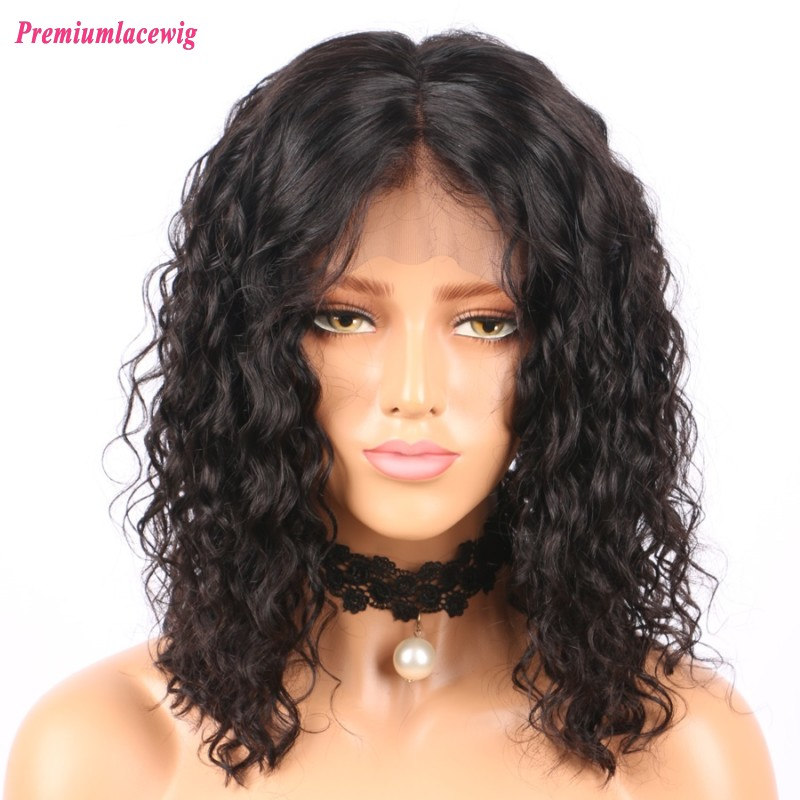 Bob loose curly 14inch 150% density 360 wigs