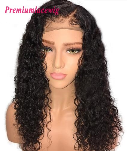 black color full lace wig show with baby hair