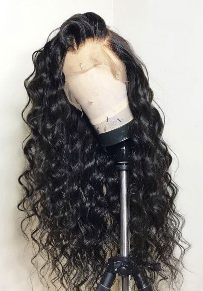 Brazilian Loose Wave Lace Front Wig Cheap Pre Plucked 18inch
