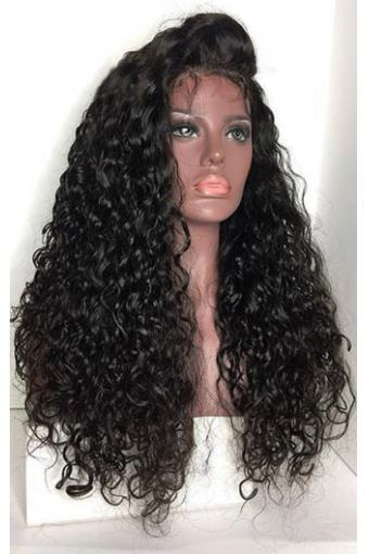250% Density Deep Curly 22inch 13x6 Lace Front Human Hair Wigs