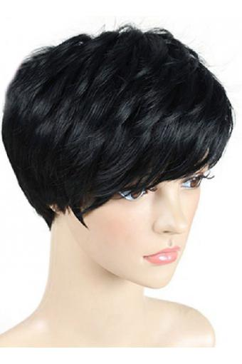 pixie cut wig short lace front human hair wigs for black women 13X4