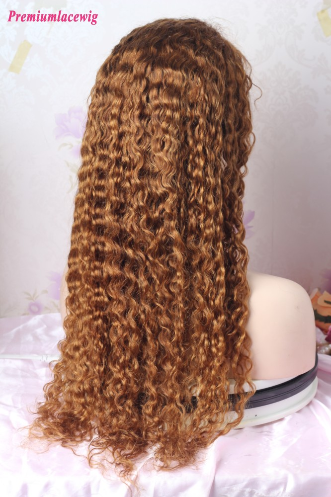 16inch color 30 waterwave full lace wig PWS388