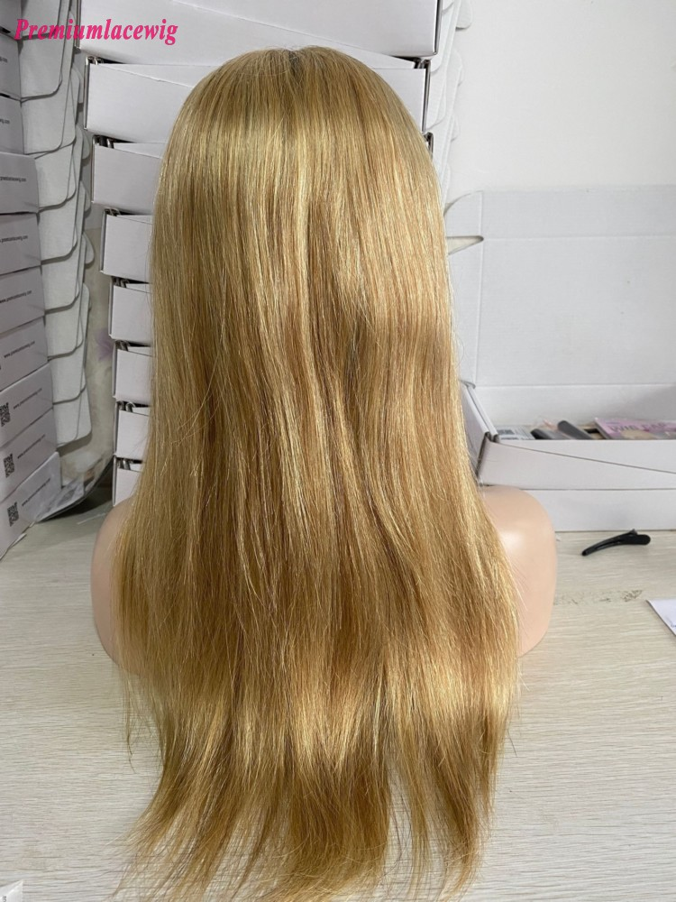 20inch-Brazilian Straight Ombre 1B/22  Color Full Lace Human Hair Wigs