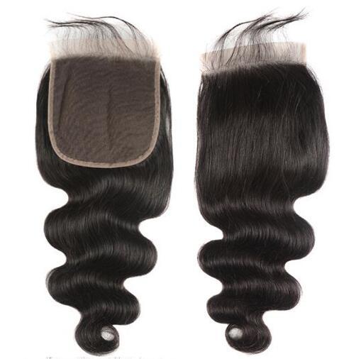 16inch Body Wave 6X6 Lace Closure Free Part Malaysian Human Hair Closure