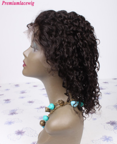 Pictures of Beautiful Wave Lace Front Wig With Natural Color