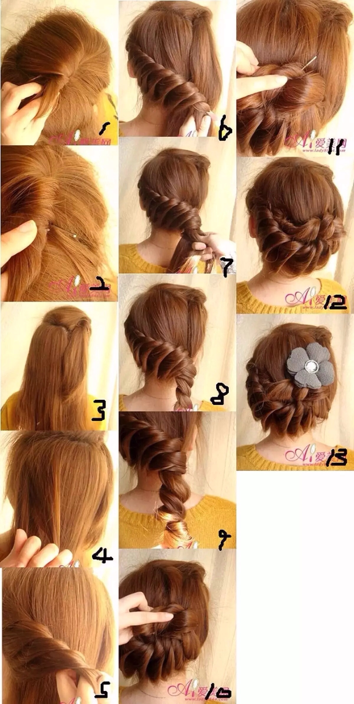 Wonderful Dish Hair Tutorial for Mothers Day