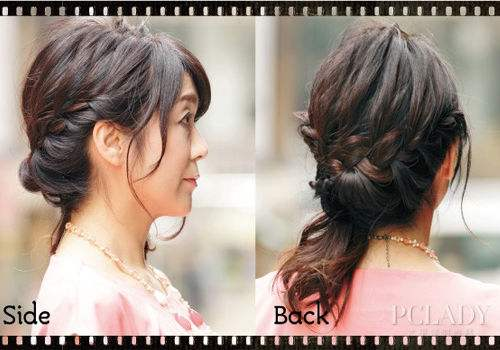 Todays Graceful Hairstyle for Our Dear Mother